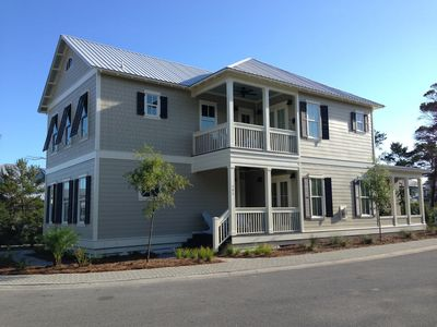Photo for SHORT WALK TO PRIVATE BEACH!!! LARGE OPEN FLOOR PLAN FOR RELAXING BEACH GETAWAYS