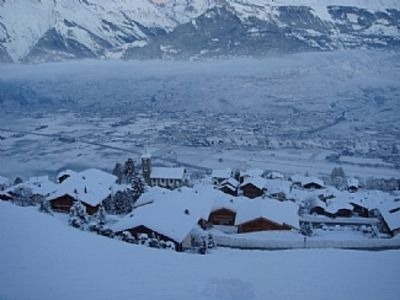 Photo for Luxury Swiss Ski Apartment, Spectacular Views of Rhone Valley, Part of 4 Valleys