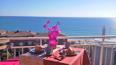 "Photo for ""CARMEN SEAVIEW & BEACH"": sea view, beach, balcony, parking, wifi, SAT-TV"