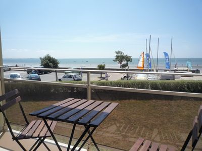 Photo for 90 sqm flat, seaviews with direct access to the beach