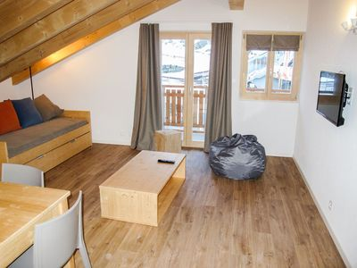 Photo for Lovely apartment for 8 guests with WIFI, TV, balcony, pets allowed and parking