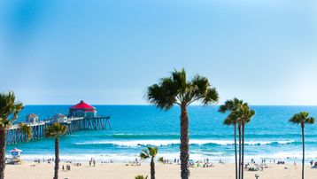 Huntington Harbour, Huntington Beach, Californie, États-Unis d'Amérique