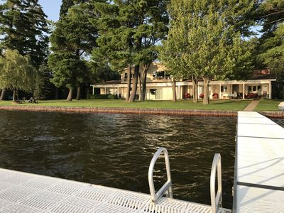 Photo for Executive 4600 sq. ft. Lakefront Estate  on Lake Mitchell in Cadillac, Michigan