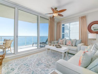 Photo for Large Gulf Front Condo, Countless Resort Amenities, Close to Dining