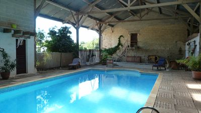 Photo for bed and breakfast with swimming pool between Mont St Michel and St Malo