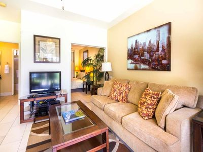Photo for Steps from the Sand! Modern Suite w/Free WiFi, Full Kitchen–Waikiki Shore #210