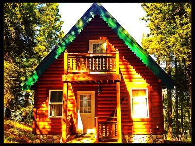 Photo for Breathtaking Views From This Custom Cabin! Snowmobile, Hiking, Fishing, Fun!