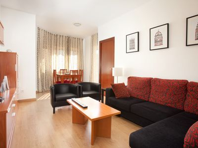 Photo for Beautiful apartment equipped with three double bedrooms