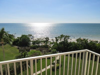 Photo for Estero Beach And Tennis Club 505C Beachfront Vacation Condo w/ Amazing Direct Gulf Views