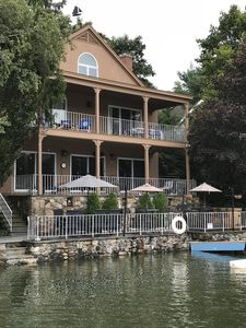 Photo for Spacious Lakefront Home with Dock
