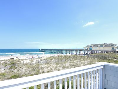 Photo for Seabiscuit - Enjoy your vacation at this bright and open oceanfront townhome