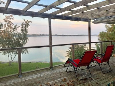 Photo for PARADISE WATERFRONT HOME/COTTAGE 520 IN SCUGOG - 1HR FROM TORONTO