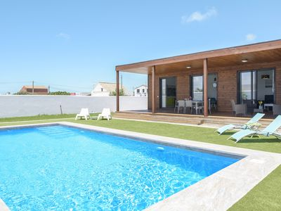 Photo for Modern Holiday Home Casa Toria with Private Pool, Air Conditioning, Wi-Fi & Terrace; Parking Available