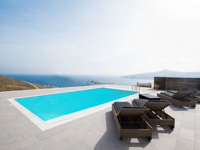 Photo for Mykonos Charming Sea View Villa