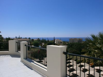 Photo for Villa Tyche Bungalow Secret Valley 'B' amazing sea views pool heating available