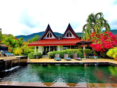 Photo for Koh Chang Beach Front 5 BR w Pool