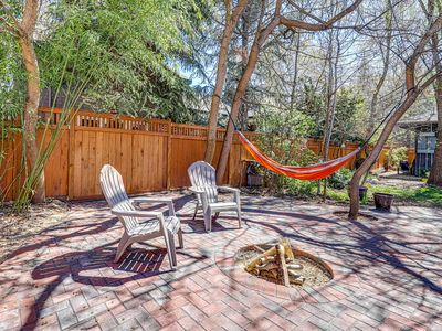 Photo for Gorgeous studio cottage w/ private patio, firepit in the heart of the North End!