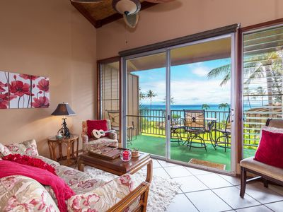 Photo for Waterfront condo w/ ocean view & shared pool - watch the sunset from your lanai