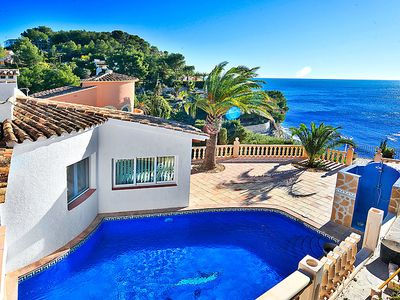 Photo for Vacation home Park Chalet  in Moraira, Costa Blanca - 12 persons, 4 bedrooms