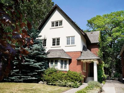 Photo for Gorgeous, stately, pet-friendly home, steps from High Park