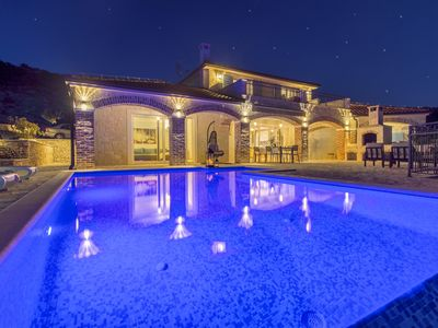 Photo for Beautiful Villa Terra, in Dalmatia, with a Pool