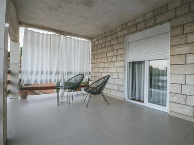 Photo for One bedroom apartment with terrace Rukavac, Vis (A-8898-a)