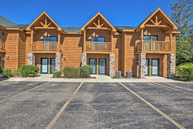 Situated at the Grand Bear Lodge, this townhome guarantees a fun vacation!