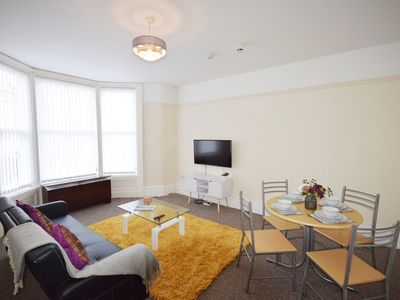 Photo for South Shore Apartment - 1 bed family apartment, sleeps 4
