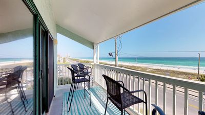 Photo for Waterfront condo with shared pool and ocean views! Free WiFi!