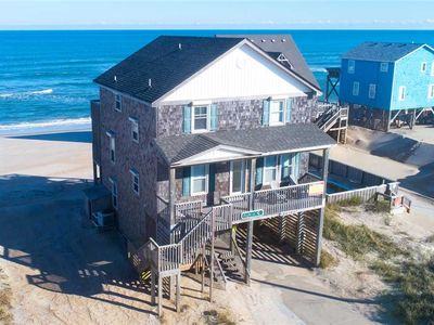 Photo for Relax Oceanfront w/Hot Tub, Netflix, Rodanthe Pier & Chicamacomico Passes & More