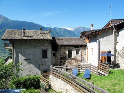 Photo for Apartment in Castione Andevenno (SO), Lombard Alps - 2 persons, 1 bedroom