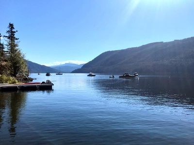Photo for Waterfront 4 bedroom cottage on Shuswap Lake