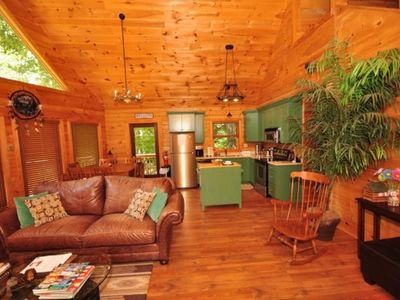 Photo for 4BR Cabin Vacation Rental in Lake Lure, North Carolina