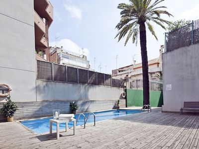 Photo for New Apartment for Groups in the Center with Pool for 6 with FREE WIFI