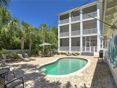 Photo for SEAS Inn - Gulf View, 30A, Heated Private Pool, Walk to the Beach and Dining!