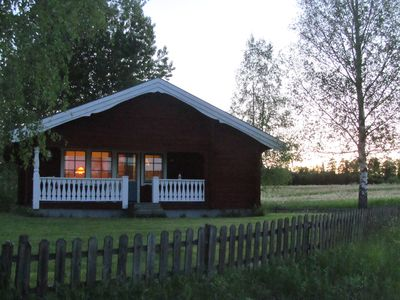 Photo for Vacation house near Hovfjallet, Torsby. Summer by the lake, winter on the slopes