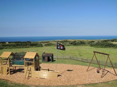 Large outdoor children's play area