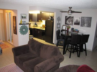 Comfortable living space. Feel at home away from home.