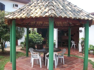 Photo for House in Guaruja in Ensenada 2 QDs Beach / Holiday July with 50% discount.