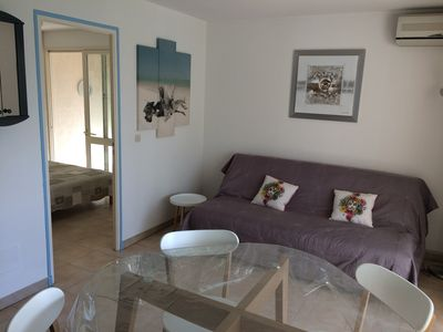 Photo for P2 cabin for rent -4 people max - very good condition Grau du Roi