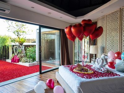 Photo for Temptation One-Bedroom Villa with Private Pool, 5 mnts drive to Canggu Club