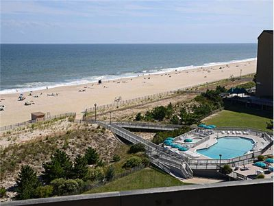 Photo for D908: 1BR+loft Sea Colony Oceanfront Penthouse! Private beach, pools, tennis ...