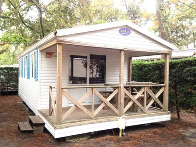 Photo for Camping La Plage *** - Mobile home California 3 rooms for 4 people