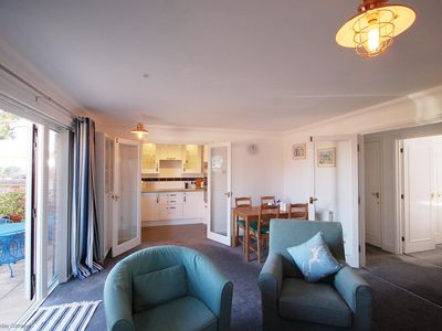 Photo for Deck 2 -  a ground floor apartment with sea views that sleeps 4 guests  in 2 bedrooms
