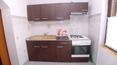 Photo for Three person apartment in Premantura with garage and close to Kamenjak