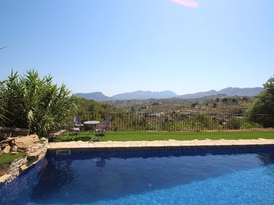Photo for Rocasol - rustic finca for nature lovers in Benissa