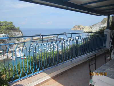 Photo for Cala Feola holiday apartment with patio and terrace.