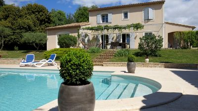 Photo for Beautiful Provencal house with private pool