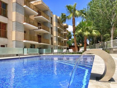 Photo for Apartment with playground and near Ferrari Land. Ideal for children.