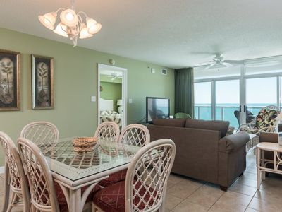 Photo for Blue Water Keyes - 1206 Oceanfront 3 bedroom beauty which offers all the right amenities